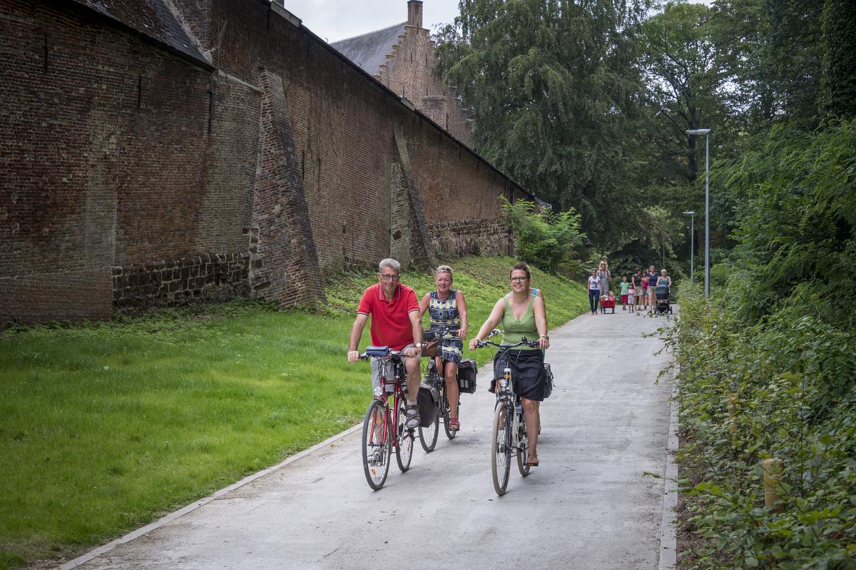 De Abdij van Averbode is een echte trekpleister voor wandelaars en fietsers. (foto Lander Loeckx)©Lander Loeckx