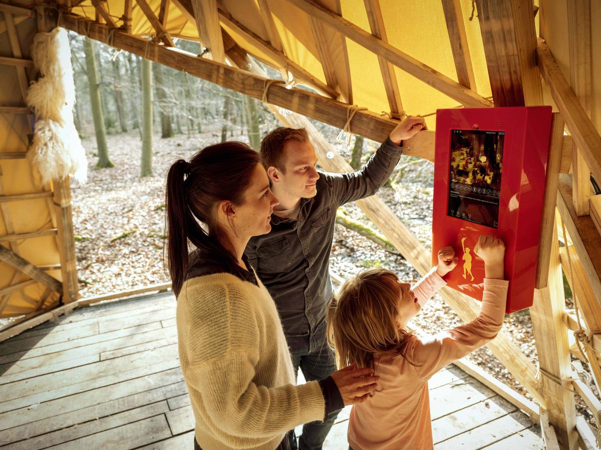 De Bruegelgame is een uitdaging voor jong en oud. (foto Luc Daelemans)©luc daelemans luc daelemans