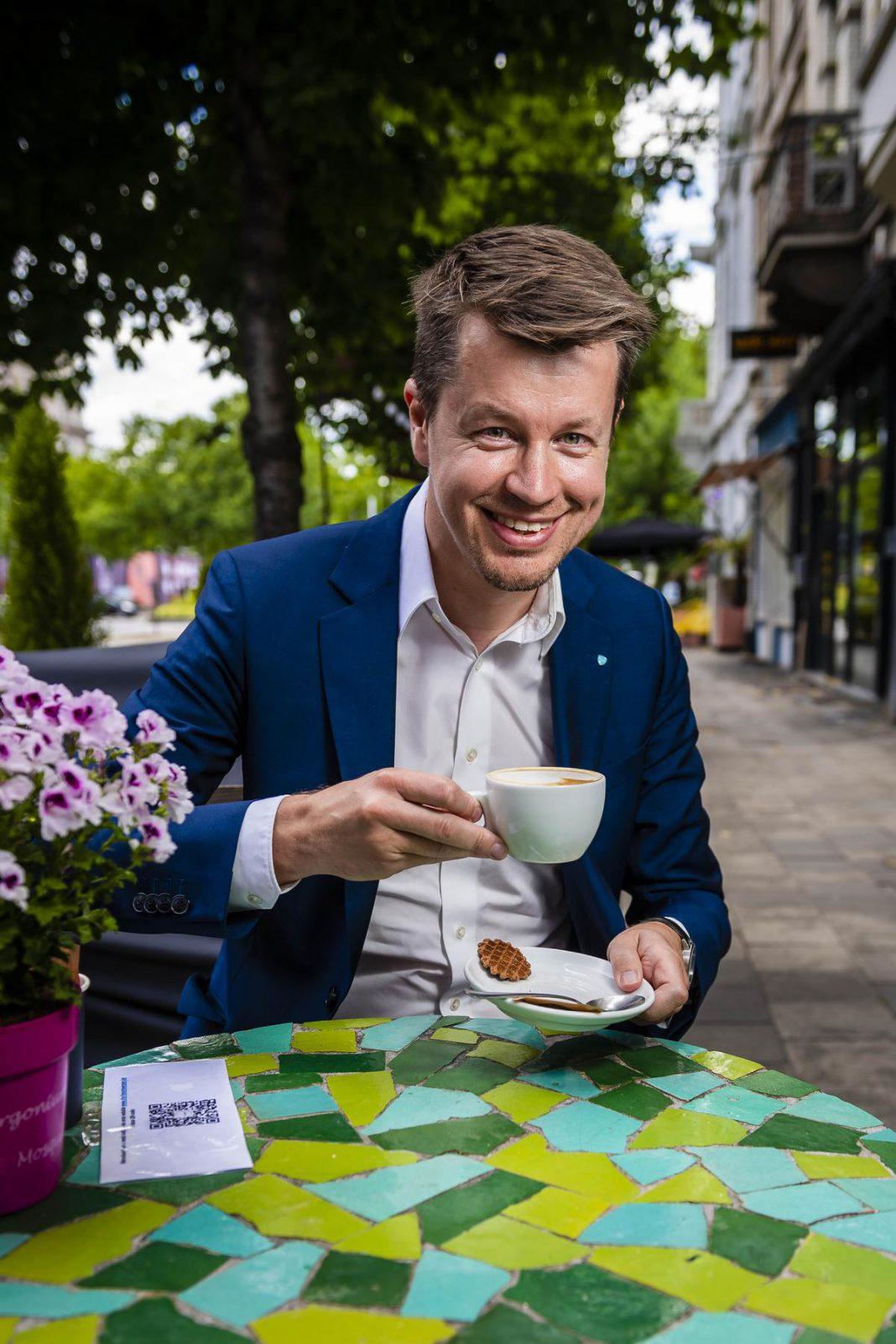 """Matthias De Caluwe: """"Als je werkt vanuit je hart en je bent bereid om door te zetten, dan kan je heel veel bereiken."""" (foto PhotoNews)©Gregory Van Gansen Photo News"""